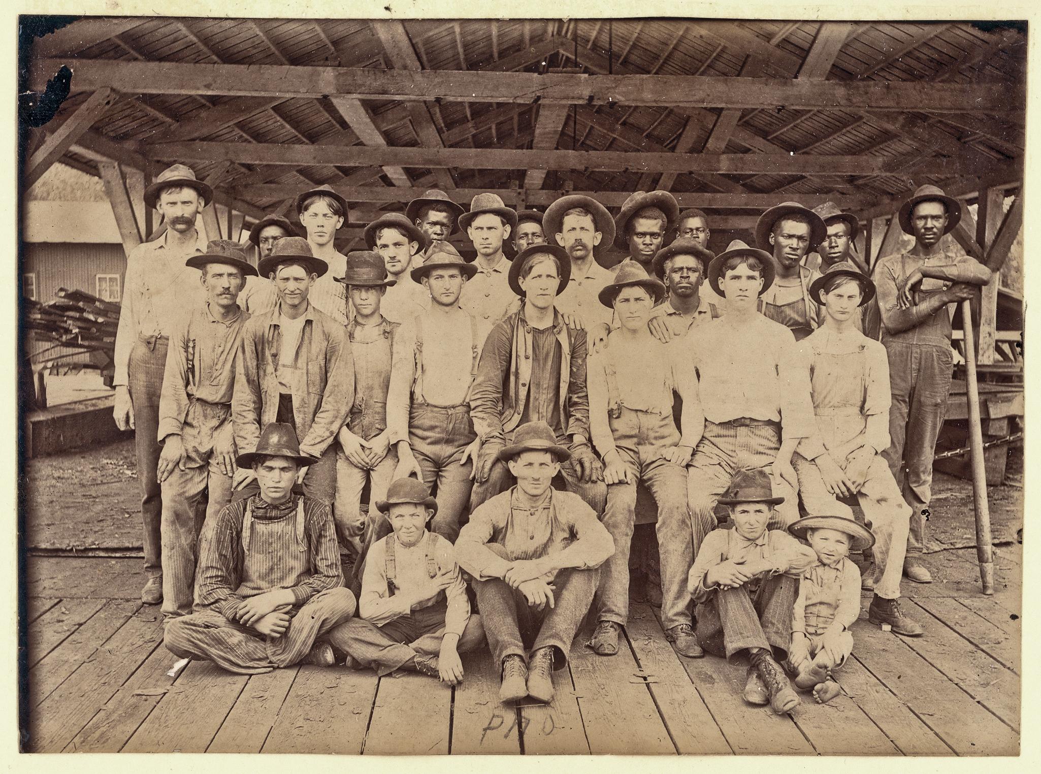 Sawmill Crew (1903)