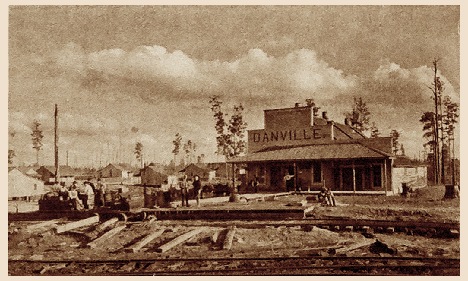 Danville Office and Store  (1909)