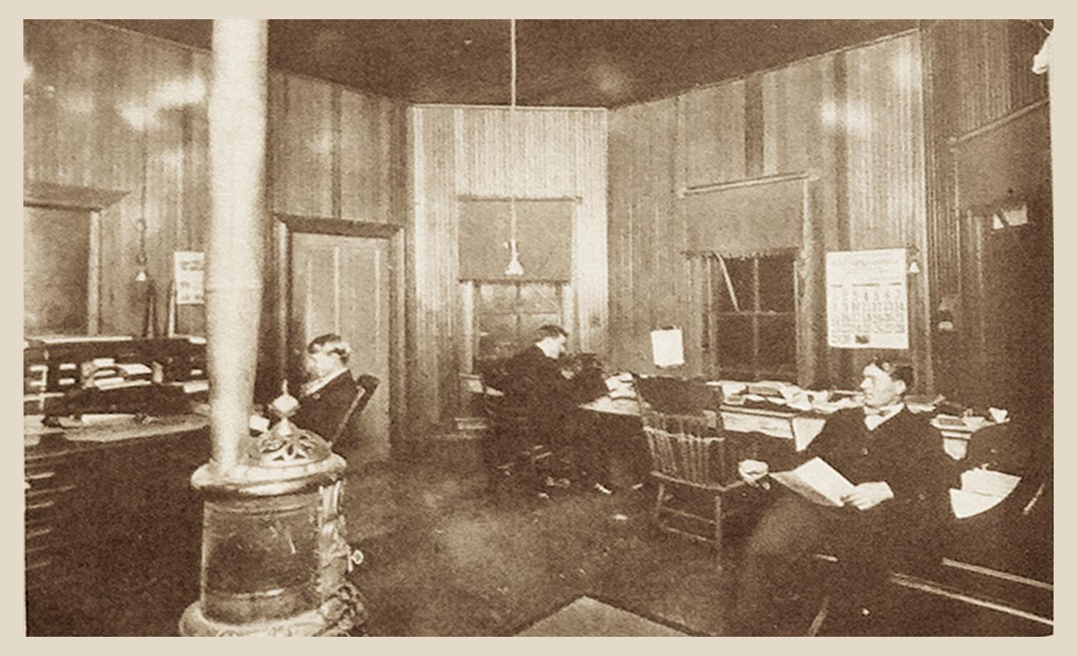 Interior General Office, Hodge, La.  (1909)