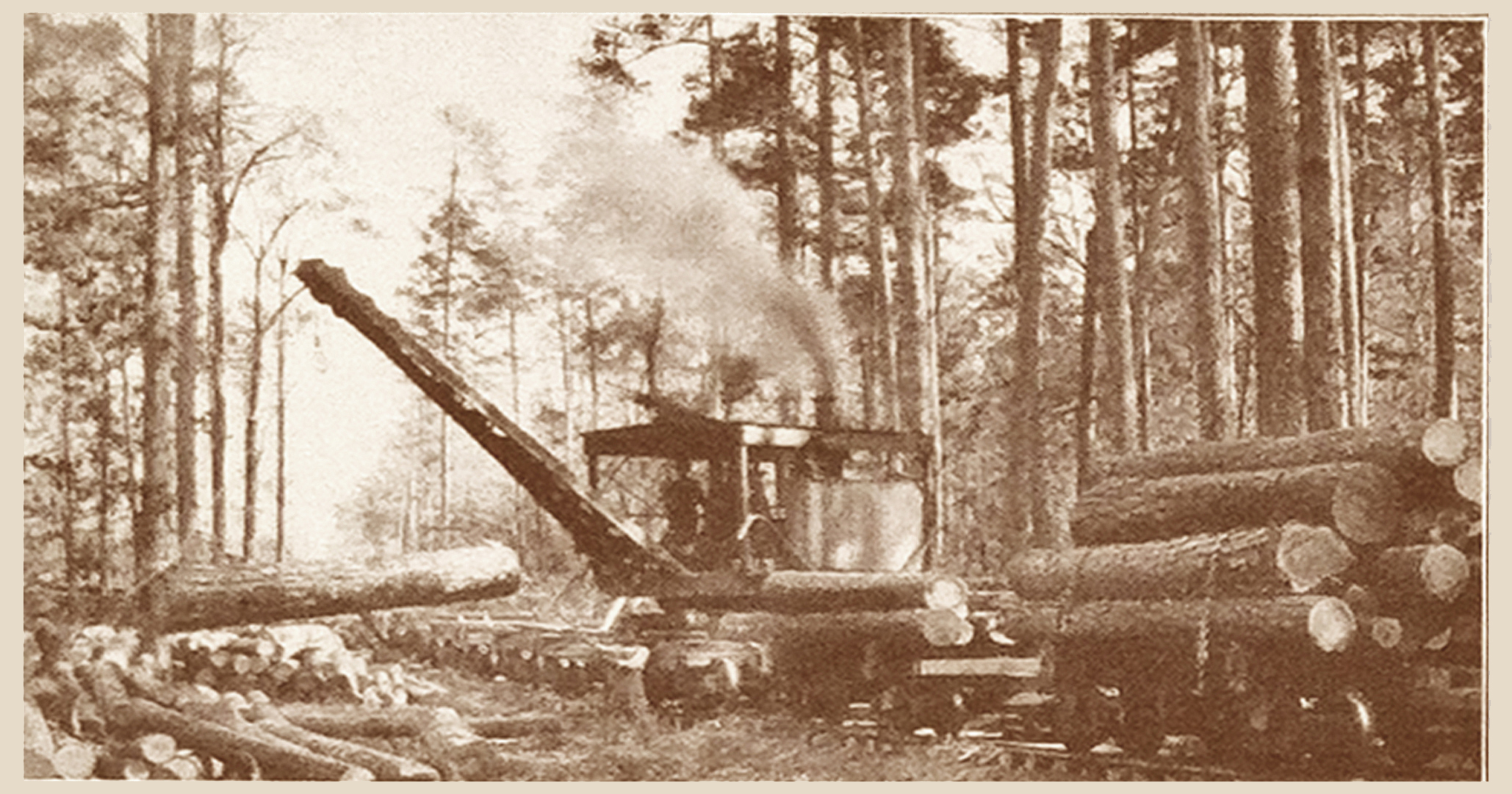 Steam Skidder (1909)