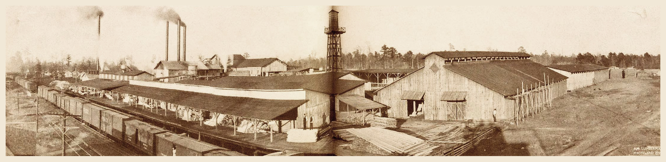 Long Sorting Shed (1909)