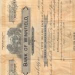 Bank of Winnfield (front)