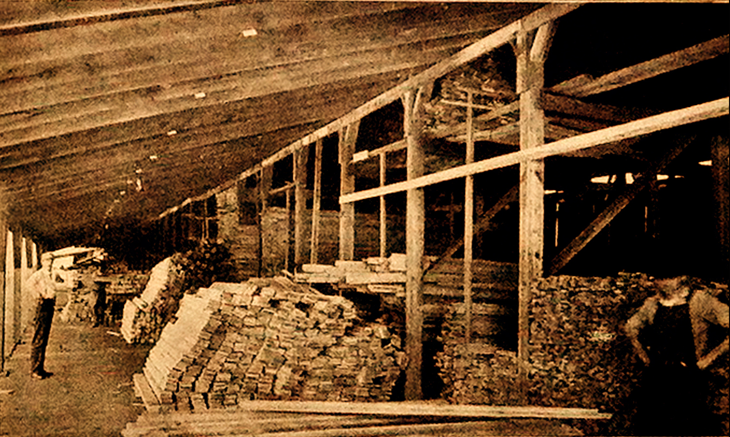 Interior Hodge Lumber Shed A (1909)