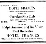 1933 Hotel Ad