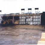 Steam log conditioning vats