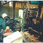 Lathe charger, lathe, and core conveyor