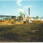 Log yard boiler and fuel shed