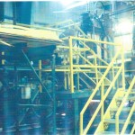 Sheet stacker and trim saw