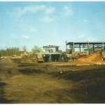 Log yard, bark hog, and fuel shed