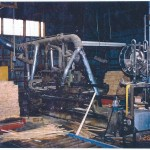 Dimension mill, interior with equipment