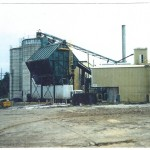 Fuel house, chip bin, fuel silos, fuel and chip conveyors