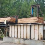 Lumber dip vat