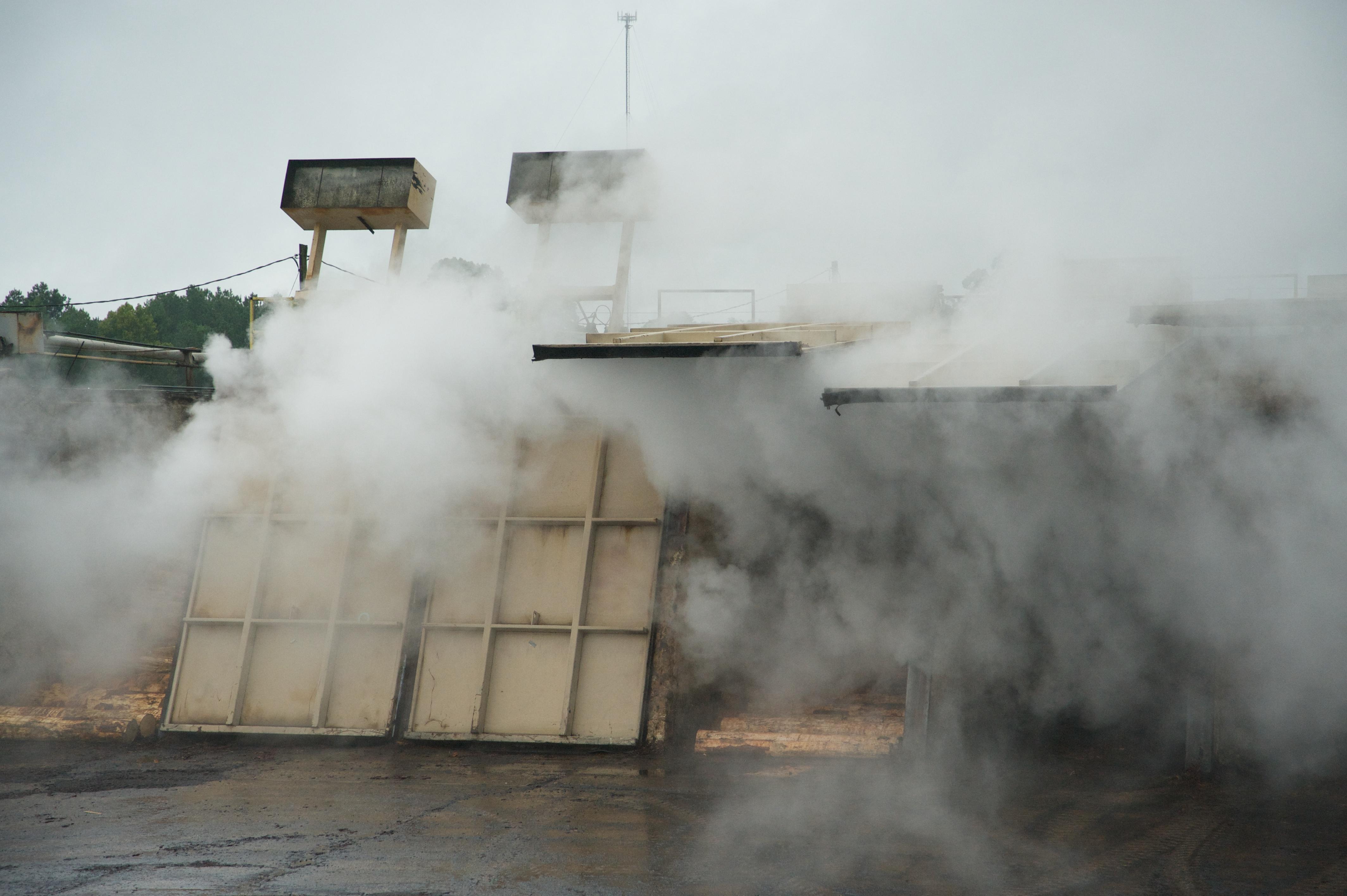 Block steam chest