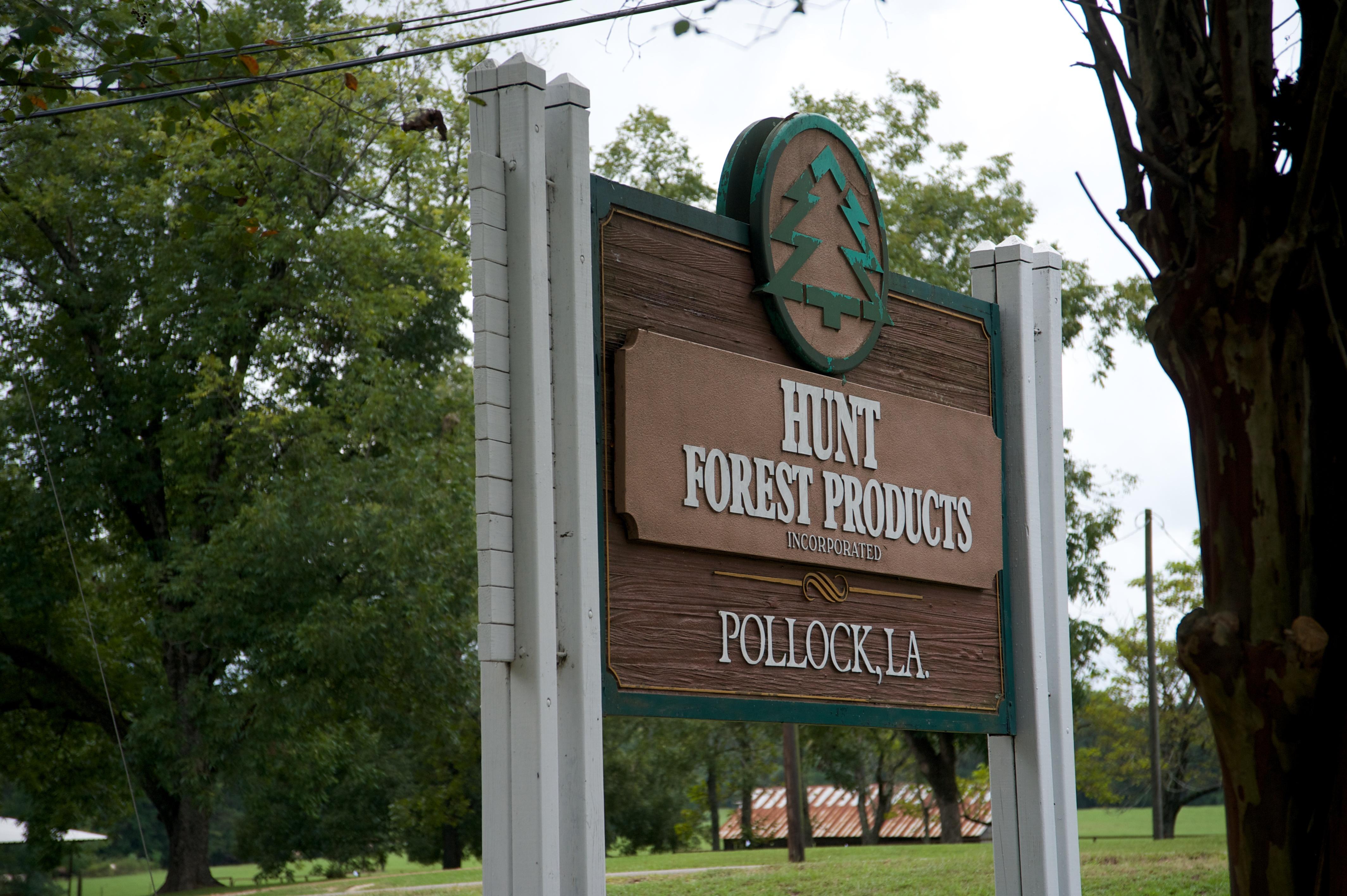 Welcome to HFP's Pollock, Louisiana facility!
