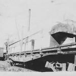 Finished Lumber on Traincar